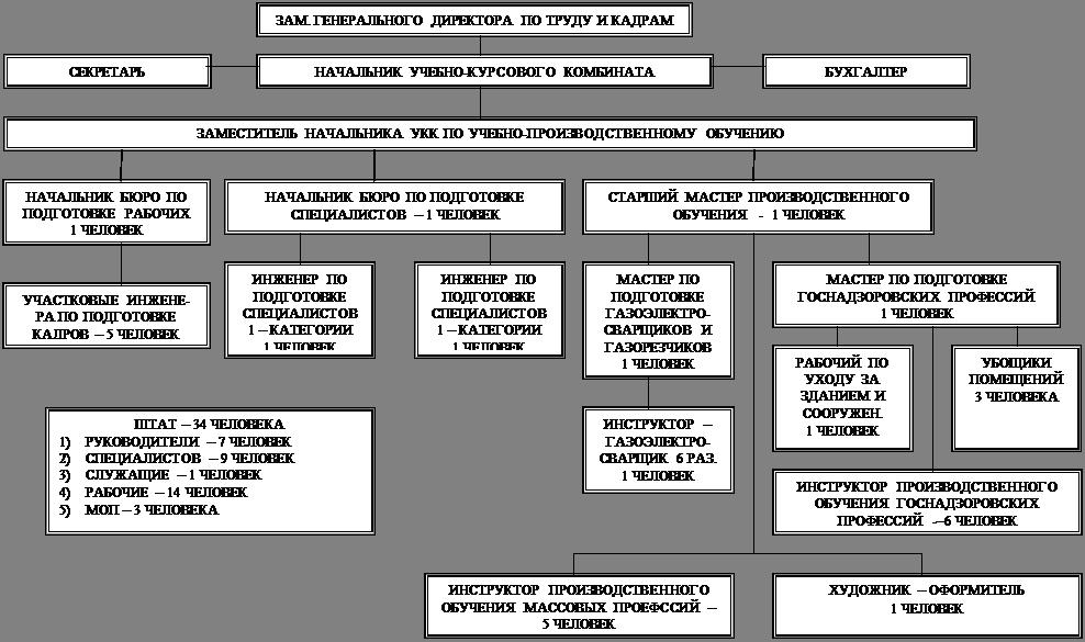 Рис. 2.3 - Структура